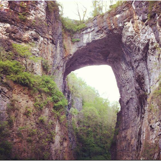 Natural Bridge. Lynchburg, VA.