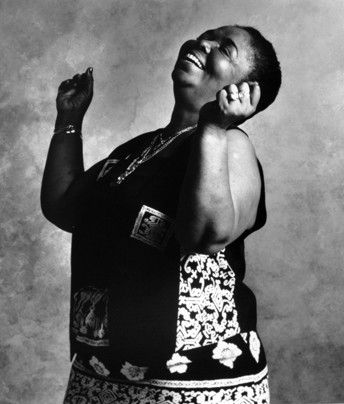 Cesaria Evora (the 'Barefoot Diva'), photographed by Pierre Terrasson