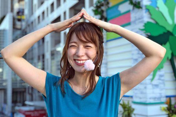 阿部華也子クシャっとした笑顔が可愛い!