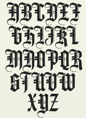 Olde Fashioned Font