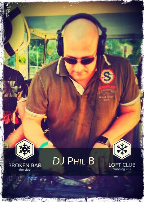 DJ PHIL B #Brokenbar #Uniquehotelpost