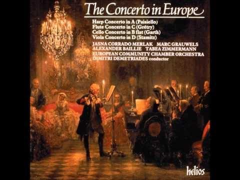 Perfect version of stamitz's viola concerto in d major 3 mvt