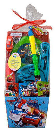 Toys R Us Hand Basket : Pre made easter basket for boys disney pixars cars