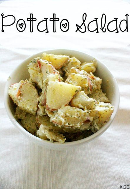 Easy and Healthy Potato Salad *Just Mayo*