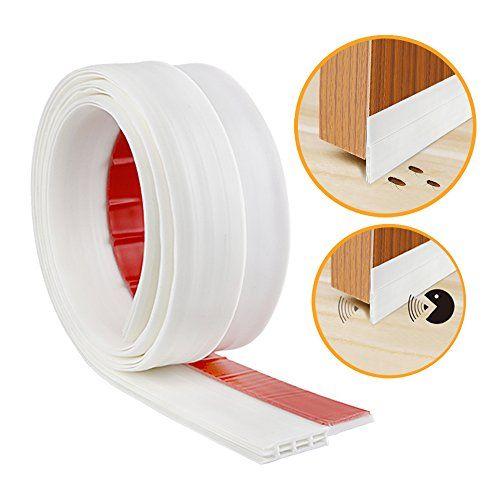 Weibond Door Bottom Seal Rubber Strip Self Adhesive Under Door Sweep Weather Stripping Anti Noise Anti Bug By White Door Sweep Weather Stripping Adhesive