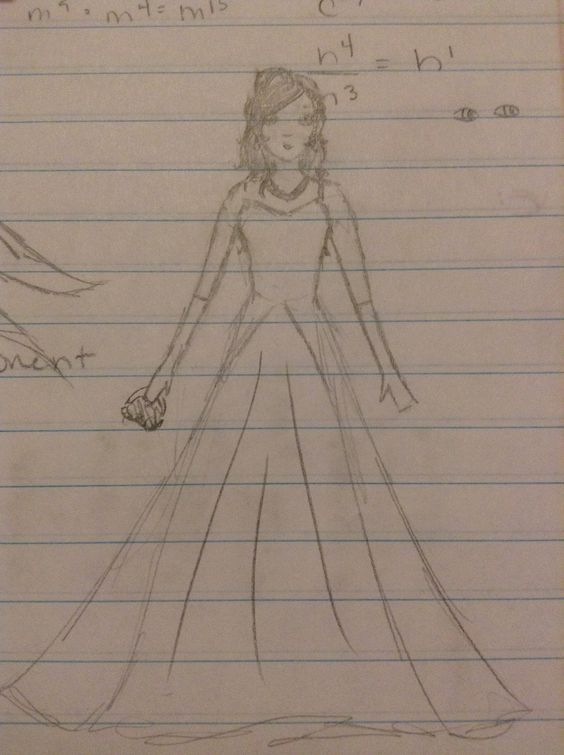 Ball gown. @TheDreamCatcherGirl