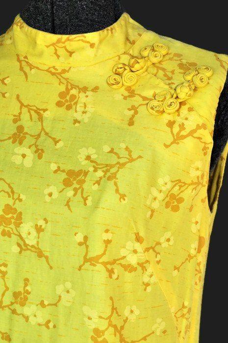 1960 Evelyn Pearson Mod Cotton Shift #cottondress #evelynpearson #vintagefashion #fashion #retro
