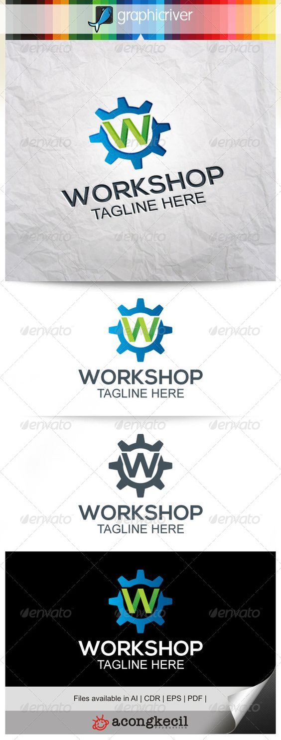 Workshop Logo Template Suitable For Company Logo Business