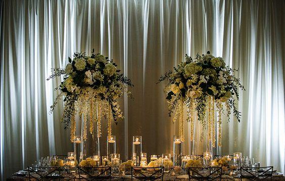 Draped Ballroom Wedding | CERental.com