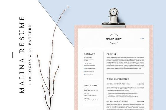 2-page resume template Resume fonts, Marketing resume and Cover - 2 page resume