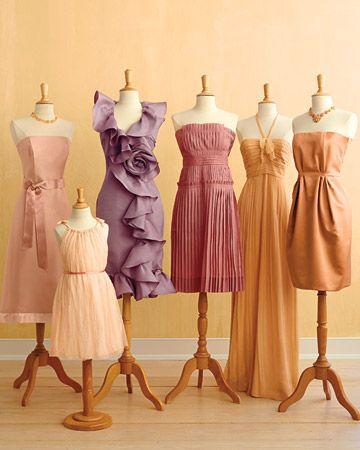 opalescent bridesmaid dresses