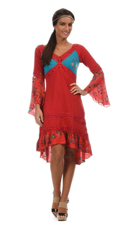 Robe ANANDA rouge