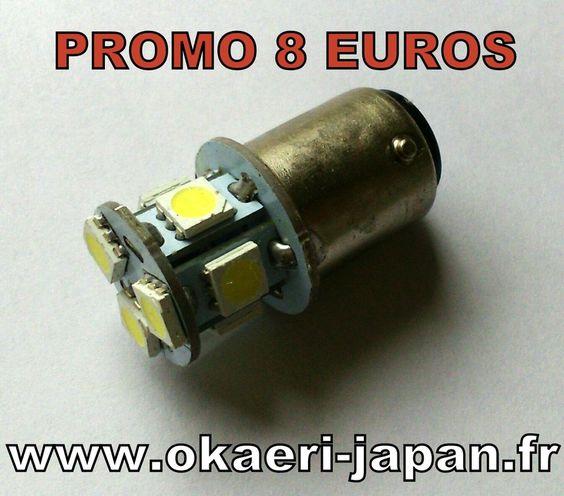 Mini4temps Pièces | Promo ampoule feu arrière LED 12V 8€