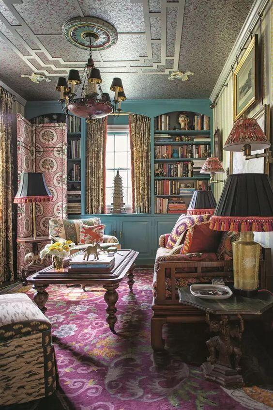 Blog Sarah Greenman Vintage Living Room Vintage Interior Design House Interior
