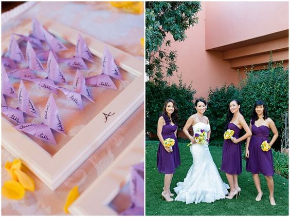 Call 310 882 5039 If You Are Looking For Los Angeles Celebrants Https Officiantguy This Pin Is Yellow And Purple Wedding Theme In Redondo