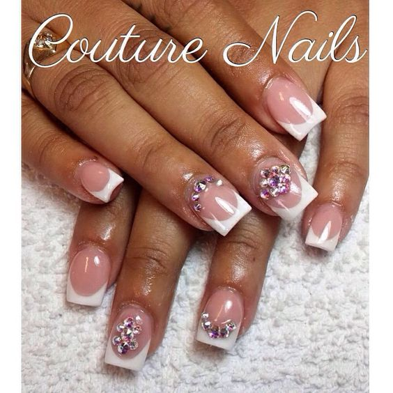 PERFECT FRENCH #nails #nail #fashion #style #CoutureNails #cute #beauty #beautiful #instagood #pretty #girl #girls #stylish #sparkles #styles  #nailart #art #photooftheday  #nails #love #shiny #notnailpolish #nailswag  #prettyonfleek #coverpink #swarovski #nails4today #naillife #nailgram #hudabeauty #tmblrfeature