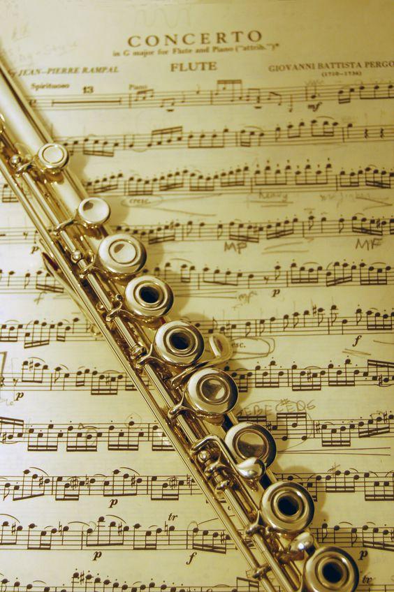 A beautiful flute.
