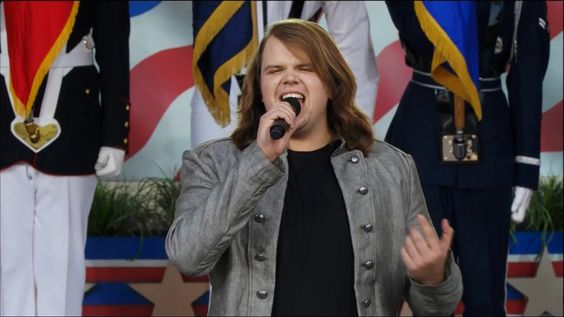 Caleb Johnson Performs at National Memorial Day Concert | LIVE 5-25-14