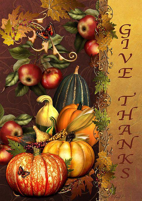 I uploaded new artwork to fineartamerica.com! - 'Give Thanks-81312' - http://fineartamerica.com/featured/give-thanks-81312-jean-plout.html via @fineartamerica