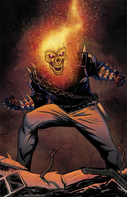 Colorist Ghost Rider By Culdesackidz On Deviantart Ghost Rider Ghost Rider Pictures Ghost