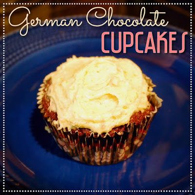 EmilyCanBake: German Chocolate Cupcakes