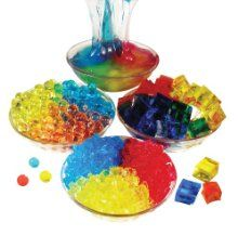 Silly squares.  squishy like water beads, but in square shape so you can try to build with them. - Re-pinned by @PediaStaff – Please Visit http://ht.ly/63sNt for all our pediatric therapy pins