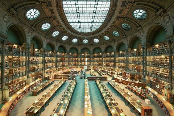 Biblioteca Nacional de Francia, Paris, Francia