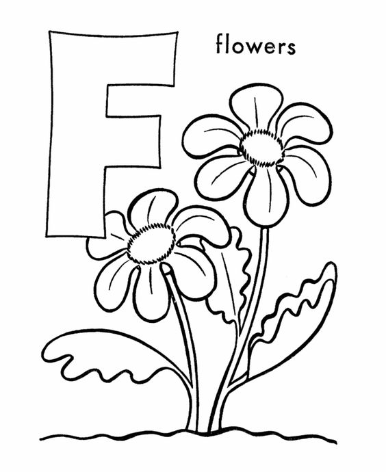 plants coloring pages preschool thomas - photo#3