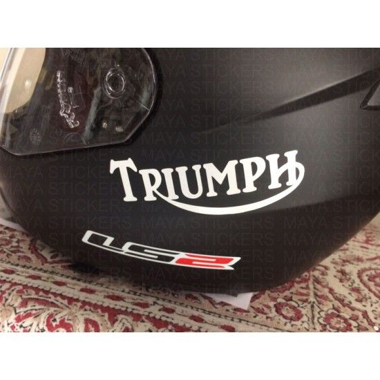 Triumph Old Logo Stickers Custom Colors And Sizes Logo Sticker Motorcycle Logo Triumph Logo