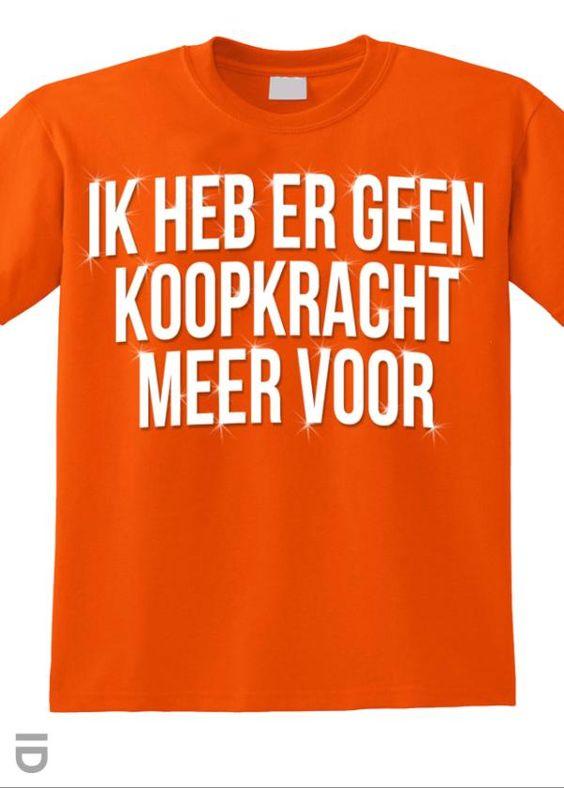 T-shirt Koopkracht