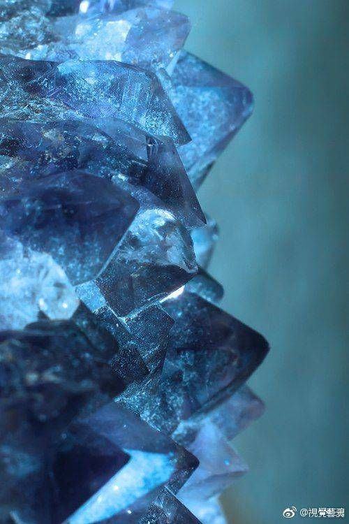 Pin By Haben Delallata On Ref Texture Crystals Blue Aesthetic Gemstones