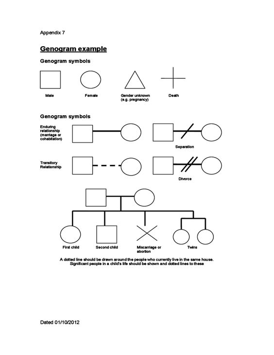 3 Generation Family Genogram To start, view this sample map - genogram template