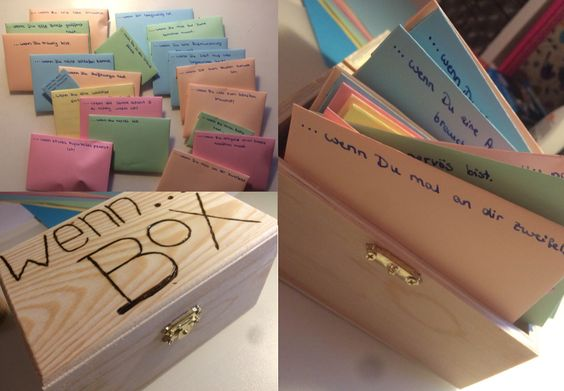 Briefe Für Beste Freunde : Quot wenn box Öffnen briefe für die beste freundin