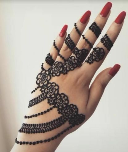 Latest Eid Mehndi design in Pakistan 2020
