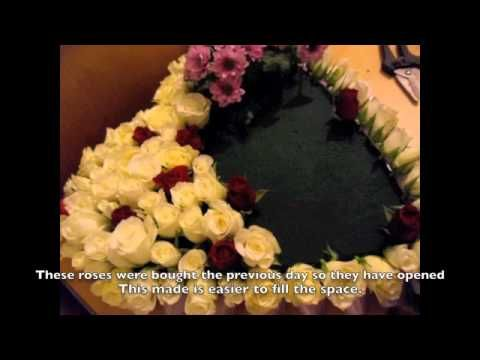 How To Make A Funeral Tribute Flower Heart Floristry Guide