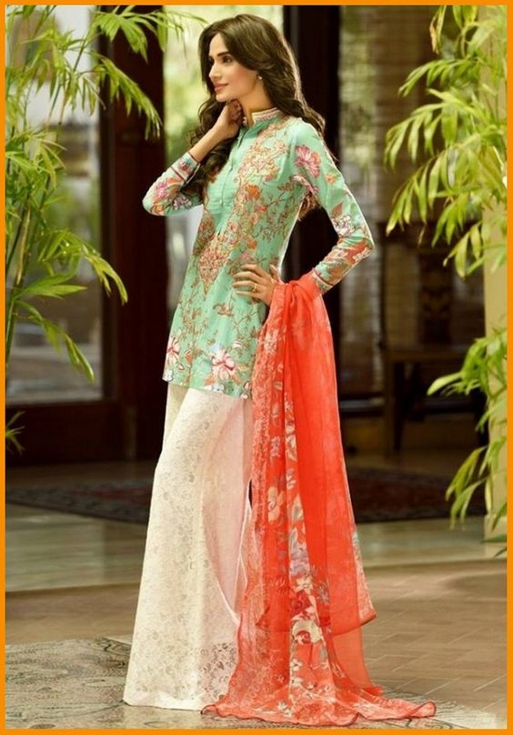 Ittehad Textiles Spring Summer Lawn Collection 2016 By Nilofer Shahid With Prices   #LawnCollection #DressesCollection #SummerDresses