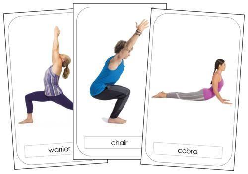 Yoga Poses Yoga Cards Kids Yoga Poses Yoga For Kids