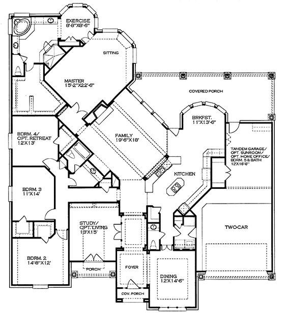 Perfect this is a very nice home plan dream house Nice floor plans