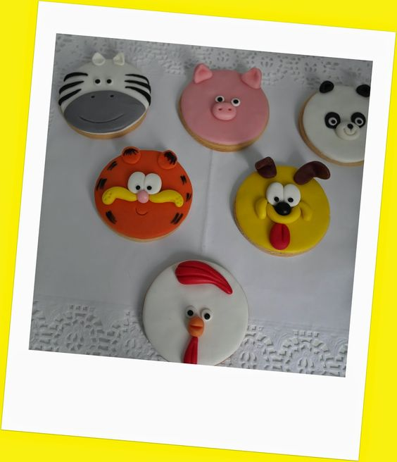 Cake Sisters: GALLETAS DE ANIMALITOS