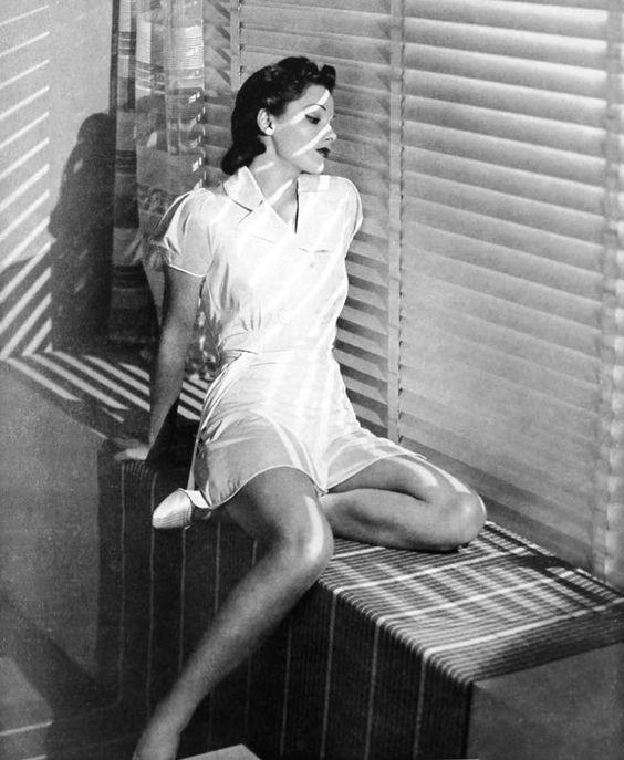 short pyjamas, 1938
