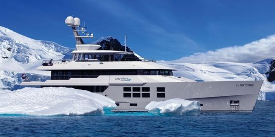 Rhino News Etc Icebreaking Yacht Design SOFTWARE Pinterest - Giga yacht takes luxury oil tanker sized extreme