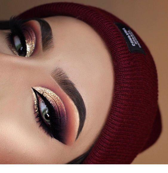 Eye Makeup For Christmas Makeup Eyeshadow Makeup Eye Makeup