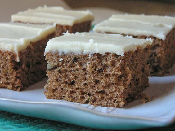 Butter, with a side of Bread // Easy family recipes and reviews.: ZUCCHINI SPICE CAKE WITH BROWNED BUTTER FROSTING