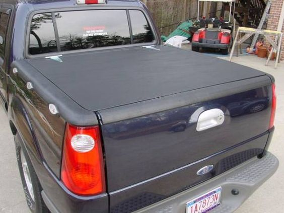 Make your own Tonneau Cover, Ford Explorer Sport Trac.  I did this for my truck great steps.