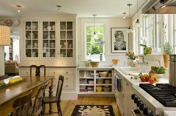 Shabby chic - phong cách nội thất tuyệt vời cho không gian nhà bếp | aFamily