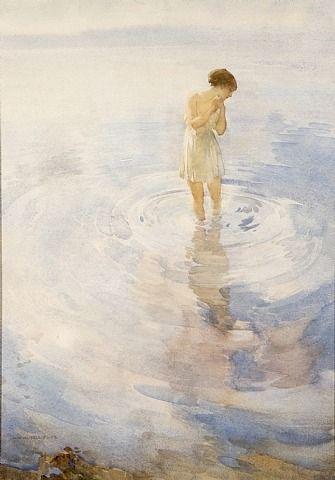 William Russell Flint, Sunlit Shadows: