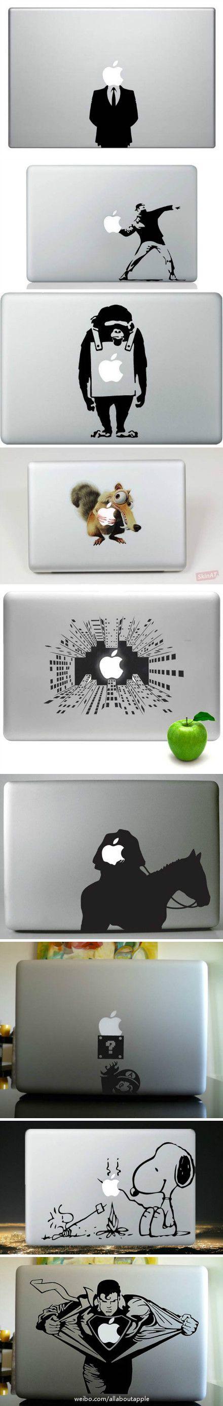 MacBook stickers :D