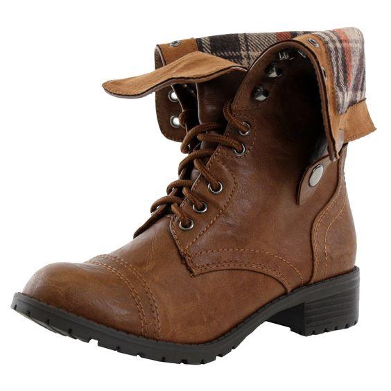 Amazon.com: Soda Women&39s Oralee Military Boot: $21.99  5.99