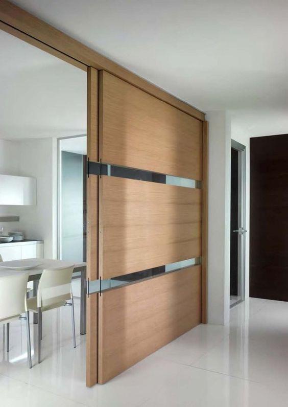 Cloison Coulissante En Verre Ou Bois Pour La Maison Moderne Design Et Interieur