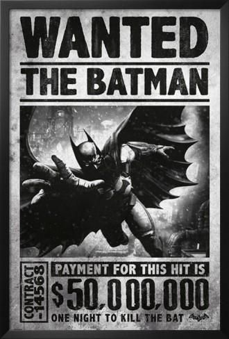 Batman is wanted for less than Ragna the Bloodedge, who is wanted for 90,000,000,000